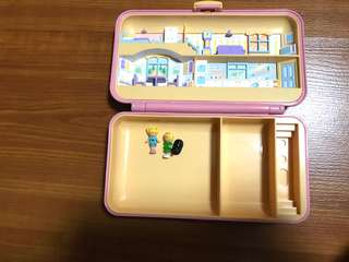 Polly pocket pretty hair playset from bluebird 1990