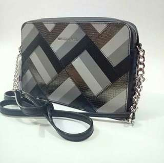 MK marquertry patchwork jetset Crossbody LUGGAGE 24 x 16 x 5 cm