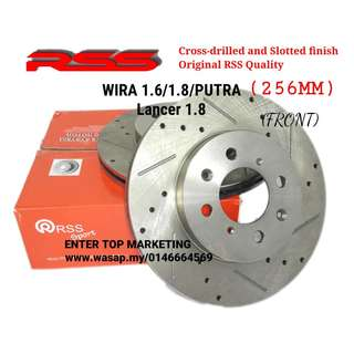 RSS disc rotor brake -wira1.6/1.8 GSR Lancer 1.8 /satria /waja 1.6