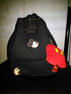 Mickey mouse bucket bag