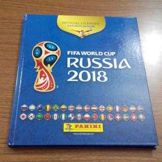 Panini Russia World Cup 2018 Sticker Album