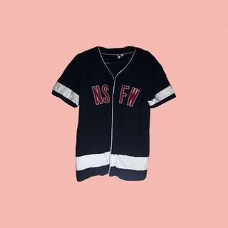 Baseball shirt Navy Blue