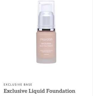 Exclusive Wardah Foundation