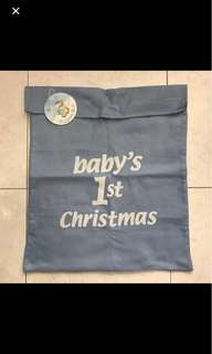 BN Baby's First Christmas Sack