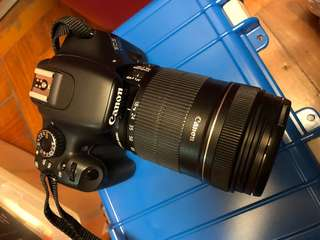 Canon 550D kit set 18mm-135mm連盒
