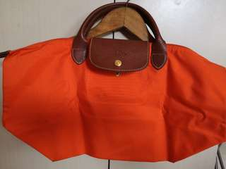 Authentic Longchamp short handle bag