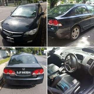 Honda civic fd 2.0 auto  Padleshift 2008 RM7,300