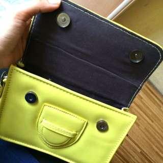 Yellow Green Luxurious Shoulder Bag