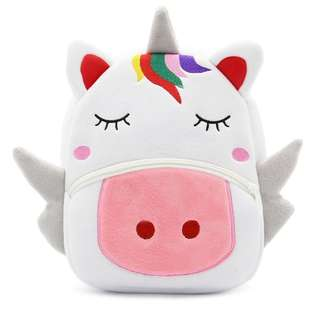 Unicorn kids backpack bag
