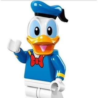 全新盒裝Minifigures 迪士尼 Disney  唐老鴨Donald 積木 可動玩偶 公仔
