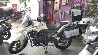 Lexmoto nomad 125 euro 4. $0 downpayment available