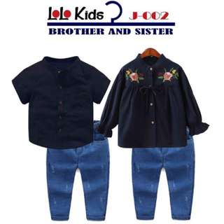 SET SEDONDON KIDS GIRL & BOY ~READY STOK~ #raya