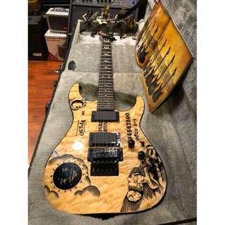 ESP LTD KH OUIJA NATURAL Limited Edition - Kirk Hammett Limited to 666 pieces