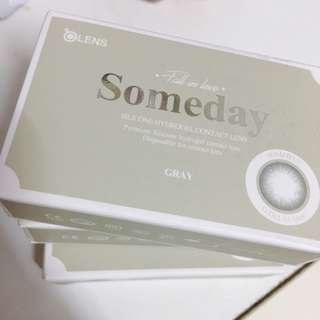 Olens Someday Gray 韓國 月Con 200/250/425度 隱形眼鏡 月拋 韓國con