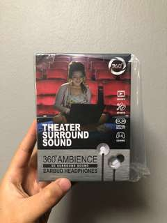 3D 5.1 Virtual Surround Sound Earbud with Premium Sub Bass