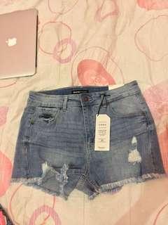 Shorts denim (high waist)