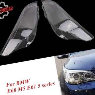 BMW E60 headlamp len / cover