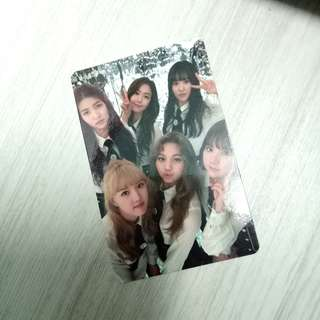 [WTS/WTT] GFRIEND THE AWAKENING OFFICIAL PHOTOCARD