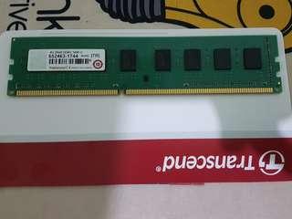 🚚 創見 桌上型電腦記憶體  DDR3 1600 4g