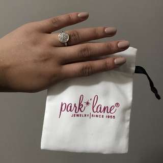 Park Lane halo ring