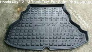 Honda City '12-'13 Trunk Tray