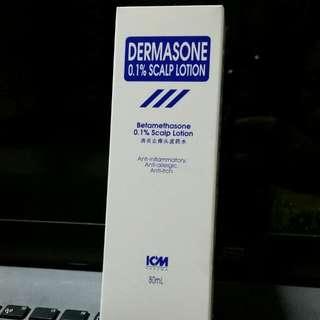 Dermasone 0.1% Scalp Lotion
