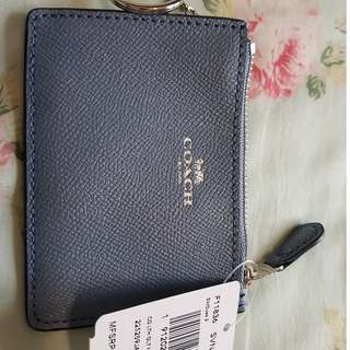 F11836 Coach Card/Coin/Tag Holder