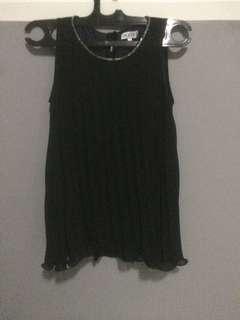Pleated mini dress. Very pretty