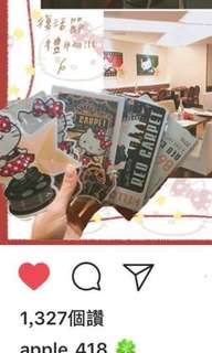 🚚 Looking for hello kitty red carpet postcards