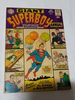 GIANT SUPERBOY ANNUAL 1 DC COMÌCS