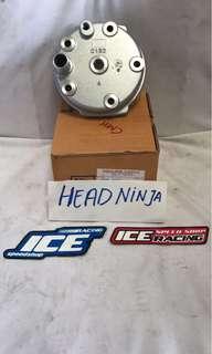 Head kawasaki ninja150 silver