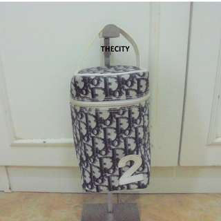 AUTHENTIC DIOR VANITY BAG - OVERALL IN GOOD CONDITION