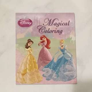 Disney Princess Magical Coloring Book