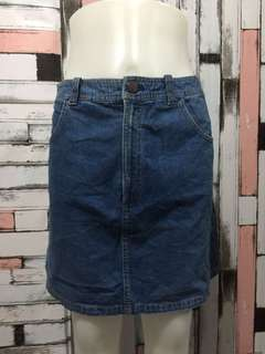 Denim skirt fit to size 26-27