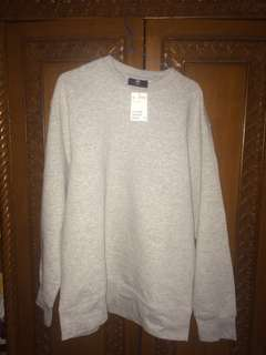 Sweater H&M hnm abu abu