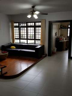 Spacious 2 rooms whole unit for rent
