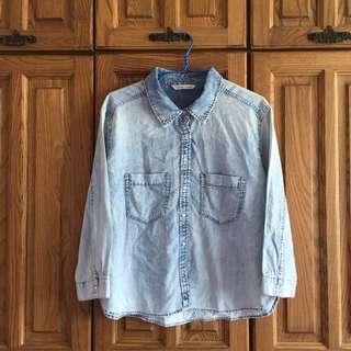 Mango Jean Denim Outerwear