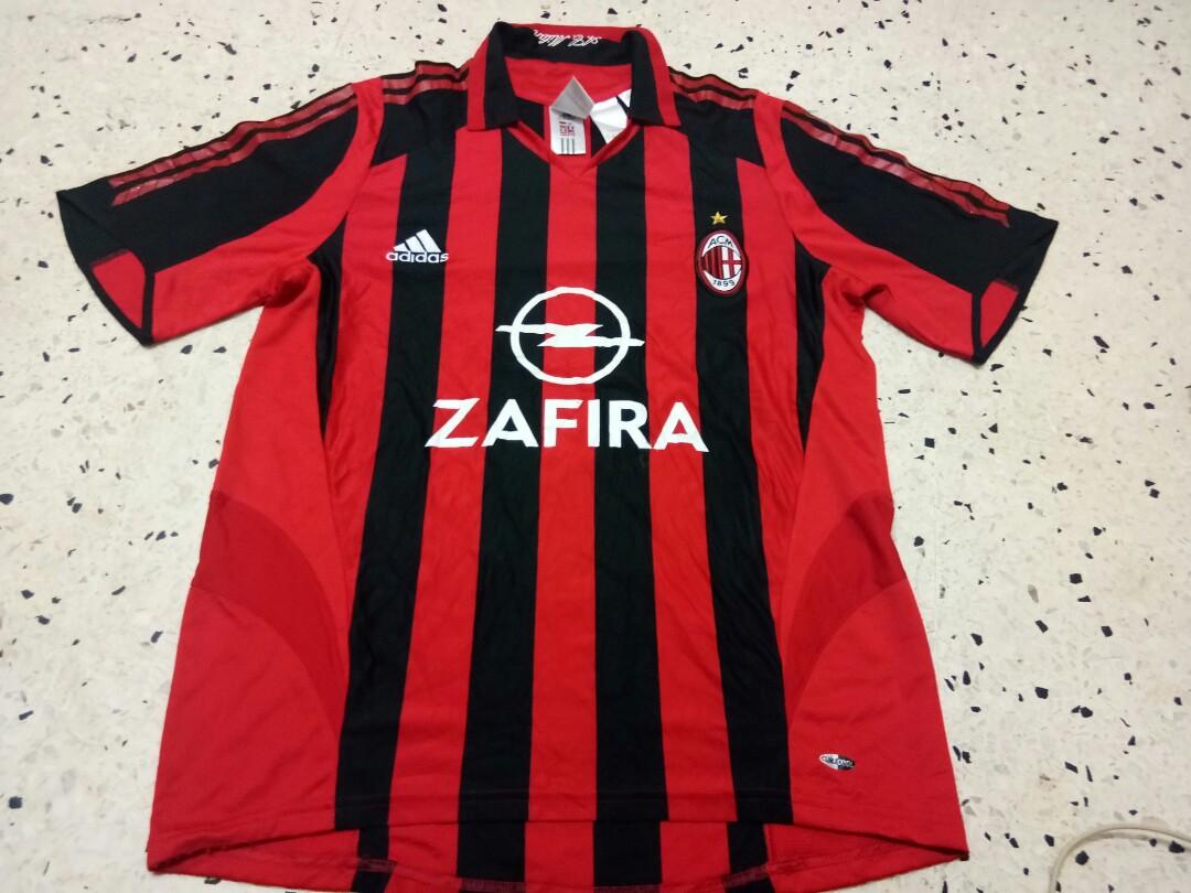 new product 2ca29 3b4de Ac Milan Jersey 2005-2006