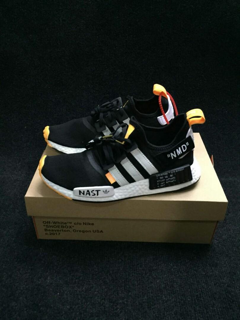 8be69e18ab3 Adidas Nmd Nast Off White