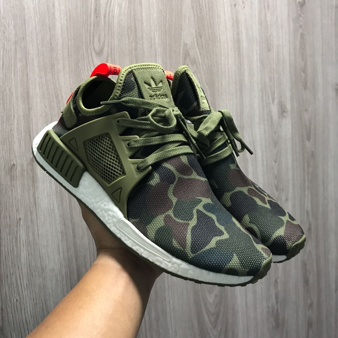 Adidas NMD XR1 Olive Duck Camo, Men's