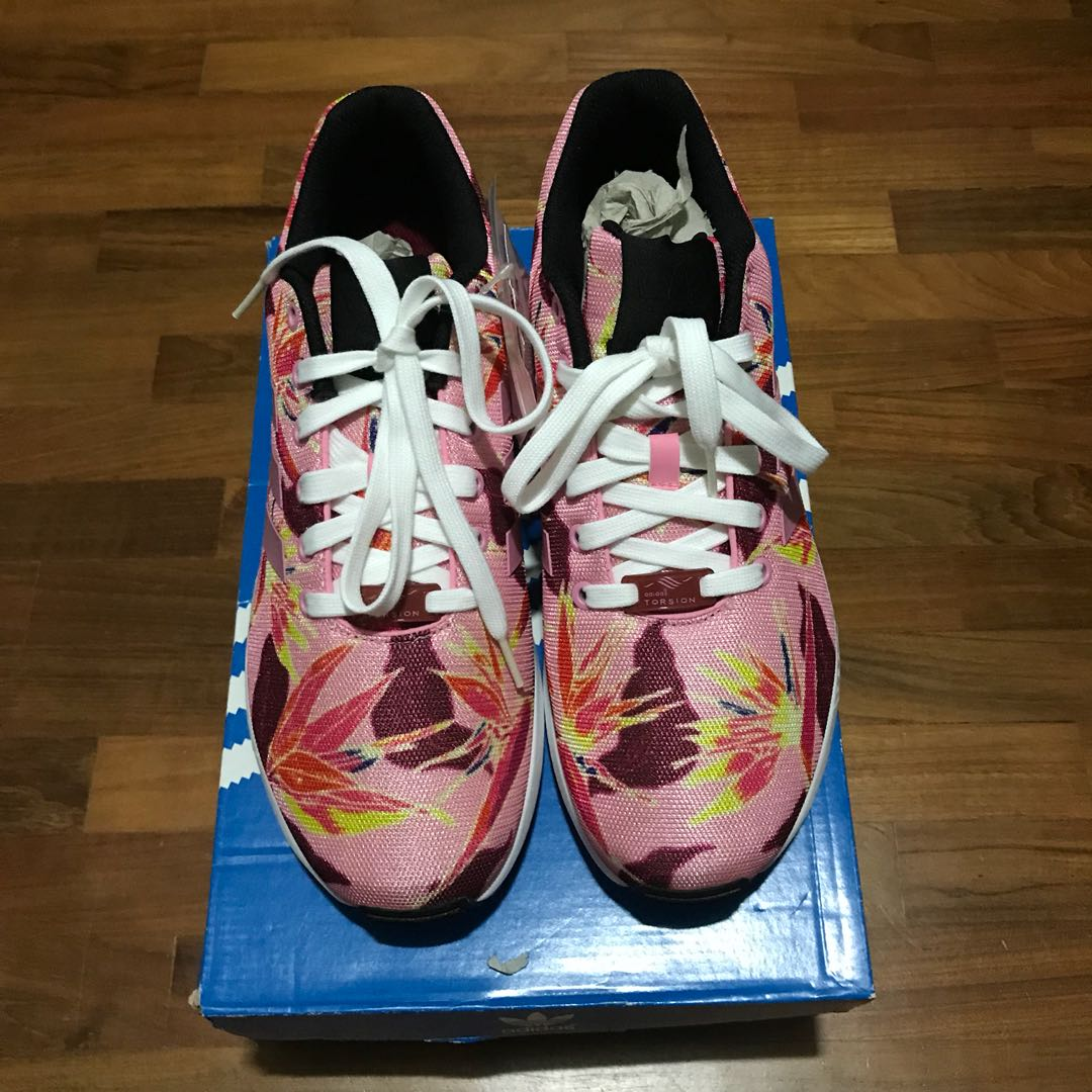more photos 31878 20ae0 Adidas ZX Flux floral pink