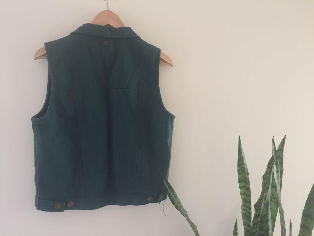 All About Eve vintage denim vest