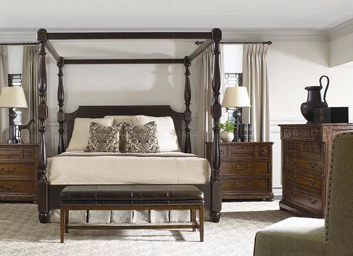 American Style Luxury Wooden Bed Frame Furniture Beds