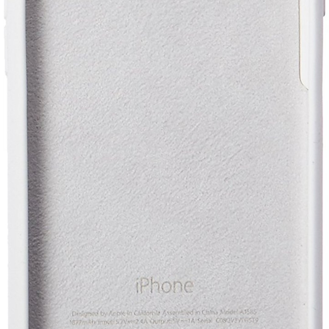 Apple White Battery Case for iPhone 6 and 6S - Retail Packaging