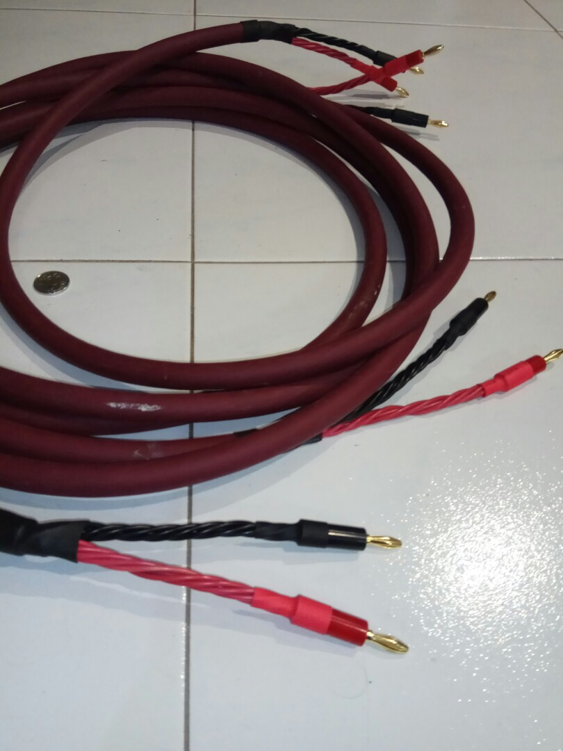 Audio quest Line wire 12 core 3 meter, Electronics, Audio on Carousell
