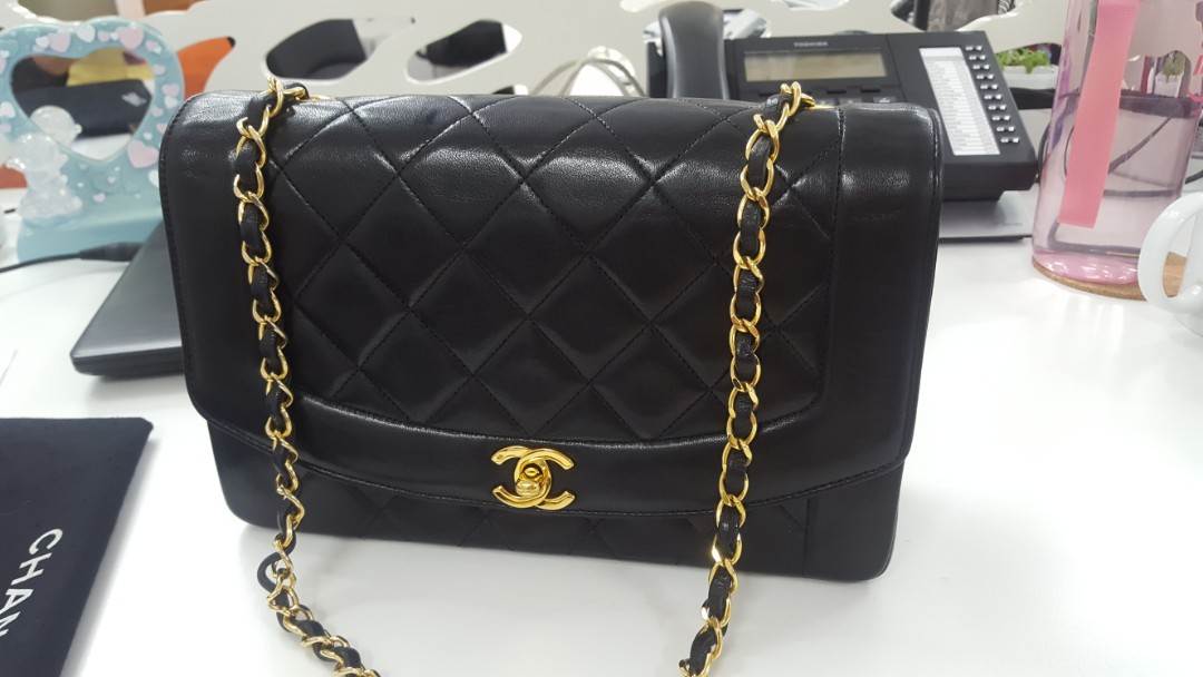 Authentic Chanel diana flap 10 inch! 4fe35e2536aa7