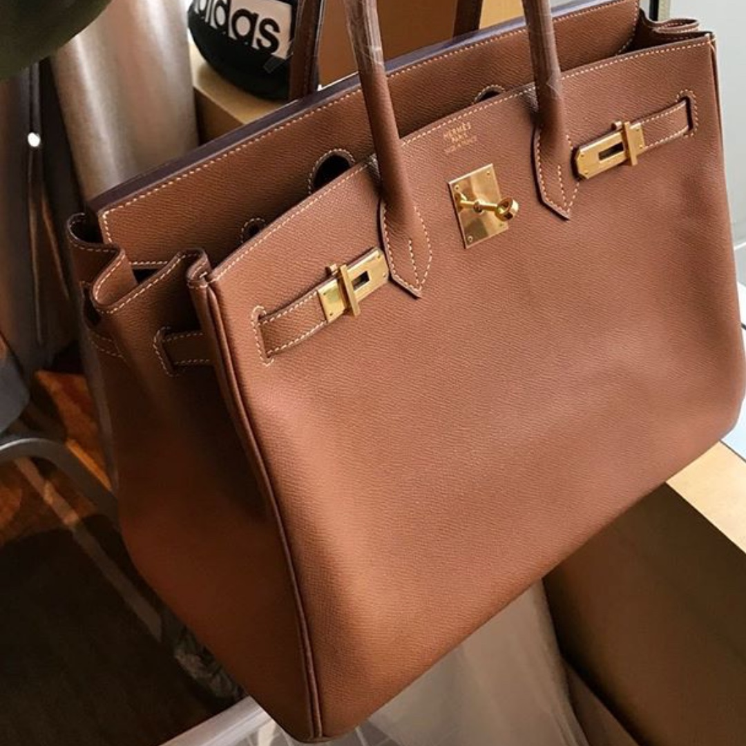 8b24ae87b3 Authentic hermes birkin 35 gold epsom ghw stamp l