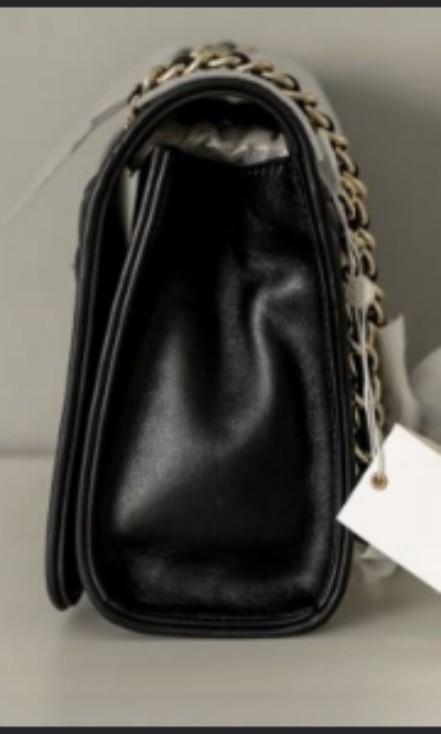 d42b6ecad8b9 Authentic Tory Burch Fleming Quilted Shoulder Bag- Classic Black Medium  Size (BNWT )