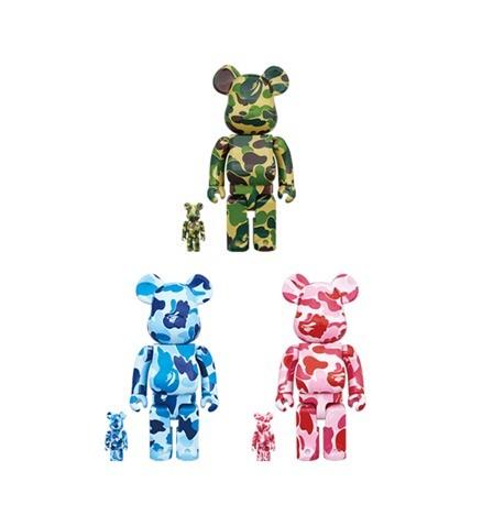 6256c06c Bape ABC camo full set bearbrick 400% +100%, Toys & Games, Bricks ...