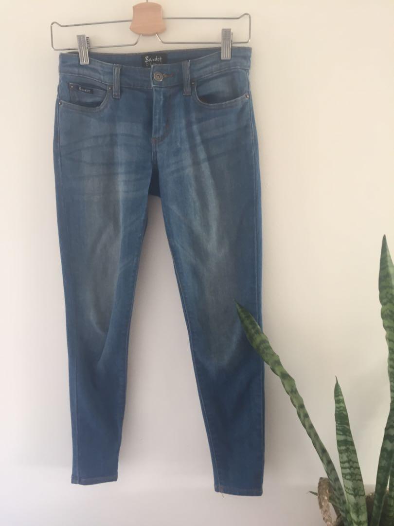 Bardot blue jeans